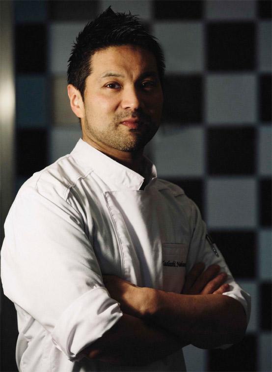 Le chef pâtissier Tadashi Nakamura.